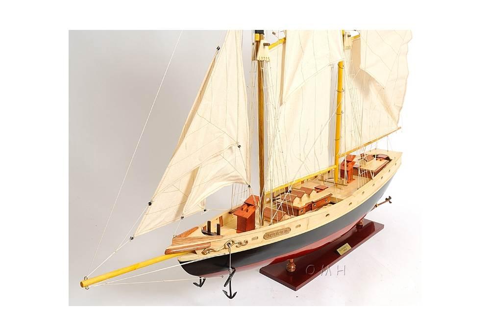 Large Bluenose Schooner Scaled Model Ship