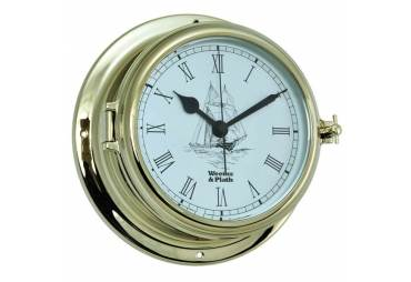 Endurance II 135 Quartz Clock w/Ship Graphics
