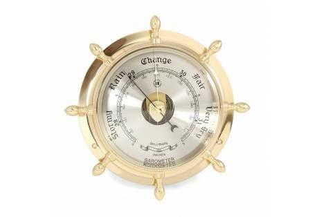 Nautical Instrument Solid Brass Barometer