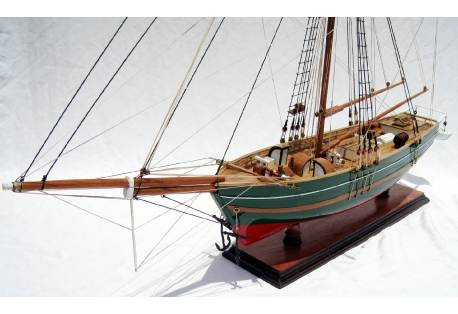 Wooden Sailing Ship GJOA Hand Built