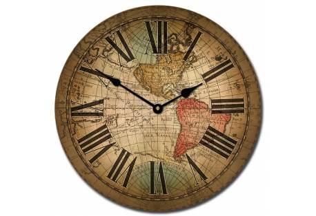 Vincenzo World Map Clock