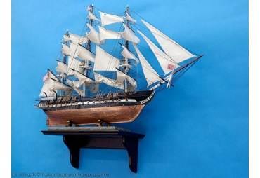 Handmade Rosewood Wall Display Shelf for Model Ship