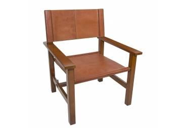 1900's Design Cartagena Leather Armchair