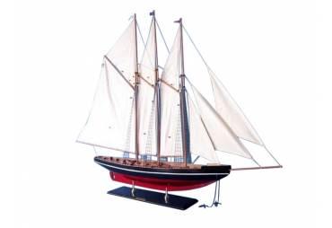 """Atlantic Schooner Wooden Boat Model 50"""""""