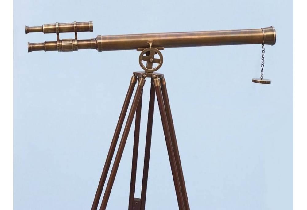 Antique Brass Griffith Astro Telescope