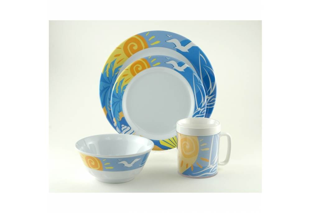 Nautical Dinnerware Boat Party Dinner Plates