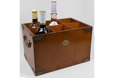 Wooden Wine Storage Container