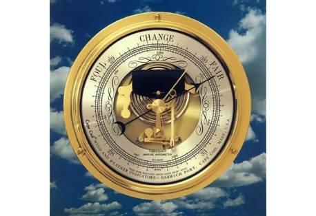 Nautical Instrument Barometer Nautical Grade Made in USA