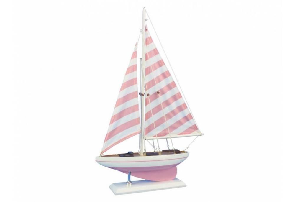 Decorative Pink Sailboat Model; Decorative Pink Sailboat Model ...