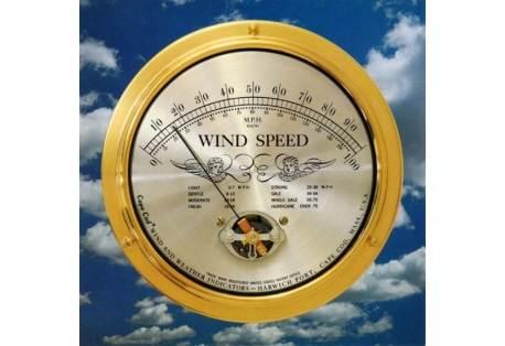Cape Cod® Brass Wind Speed Indicator Cape Cod® Brass Wind Speed Indicator