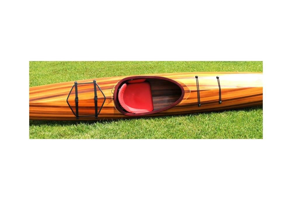 18 Feet Hudson Kayak Hand Made From Cedar Wood Strip