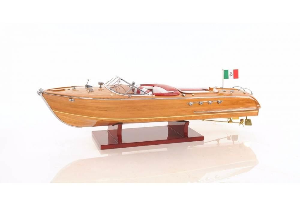 1960 Riva Aquarama Classic Wooden Speed Boat Model Hand Made