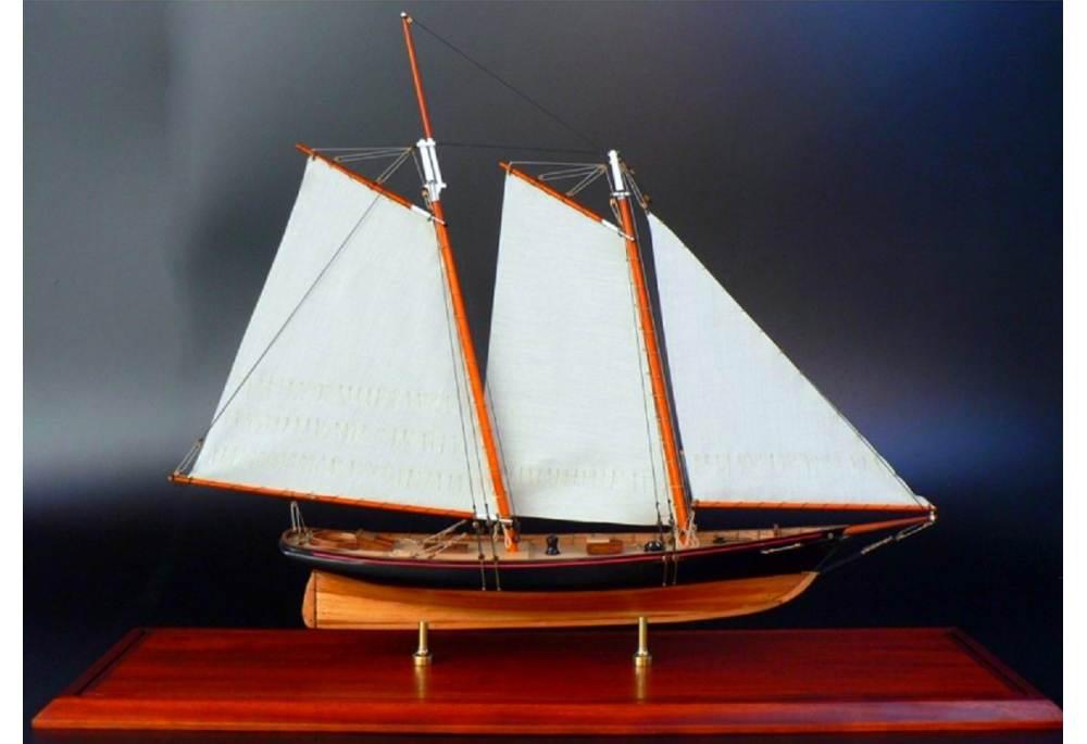 America 1851 Scaled Schooner Model Gonautical