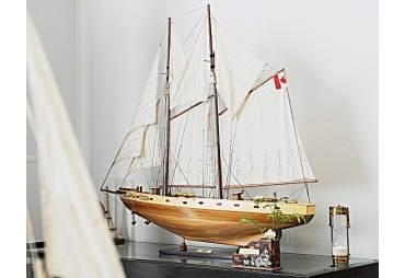 Bluenose II Schooner Wooden Yacht Model