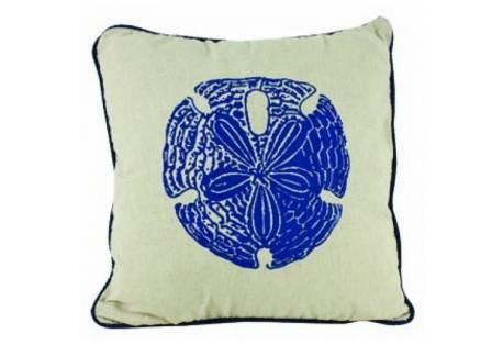"Sand Dollar Pillow 15"""