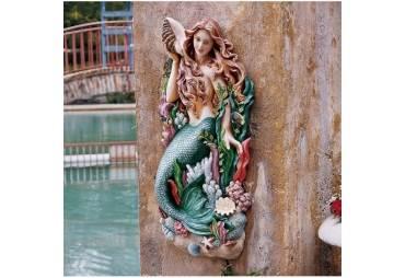 Mermaid Wall Decor Sculpture
