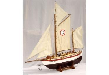 Colin Archer Fishing Boat Model
