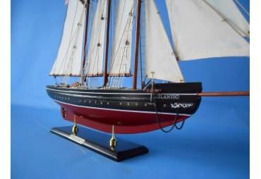 Schooner Atlantic Wooden Sailboat Model