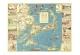 1940 Colonial Craftsman Decorative Map of Cape Cod, Massachusetts