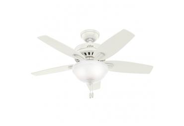 Light Oak Blades Indoor Hunter Ceiling Fan