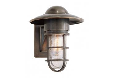 Bronze Marine Outdoor/Indoor Lantern Wall Light