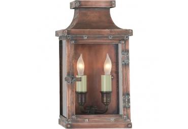 Copper Indoor/Outdoor Wall Lantern