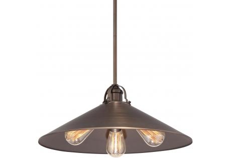 Copper Bronze Patina Pendant Ceiling Light