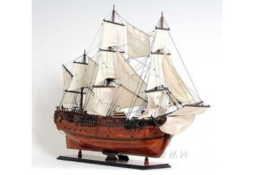 HMS Barque Endeavour Wooden Tall Ship Model