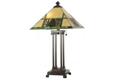 "25""H Pinecone Ridge Table Lamp"