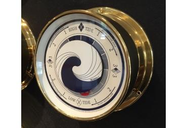 Brass Tide Clock