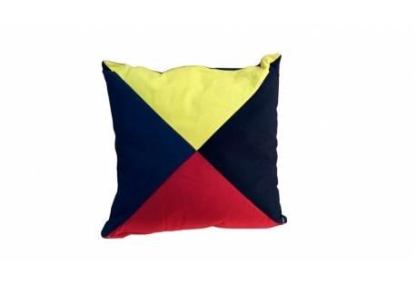 Nautical Flag Pillow, Letter Z
