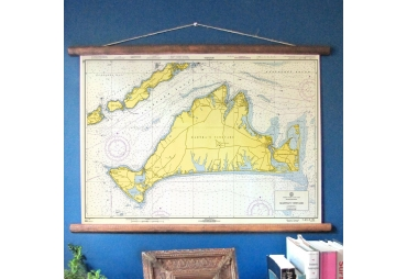 Martha's Vineyard, Massachusetts Vintage Nautical Chart