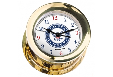 U.S. Navy Atlantis Quartz Maritime Clock