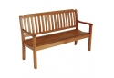 Solid Teak Garden Bench