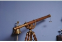 Antiqued Nautical Brass Harbor Telescope