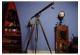 Antiqued Nautical Harbor Telescope