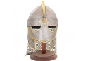 Hand-Forged Steel Viking Helmet