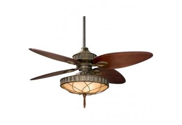 Venetian Bronze Ceiling Fan with Lights