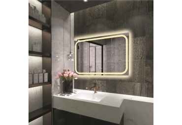 Contemporary style Back Lit LED Mirror