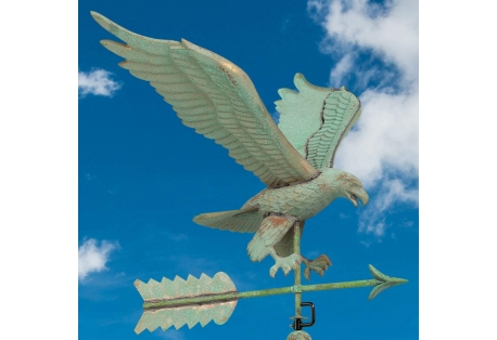 Weathervane Eagle Verdigris Copper