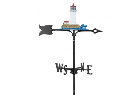 Lighthouse Weathervane Wind Indicator