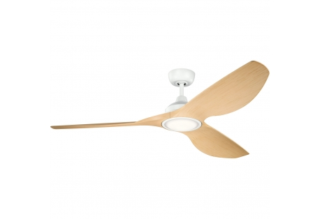 Nautical Lighting : LED Oak Blades Ceiling Fan