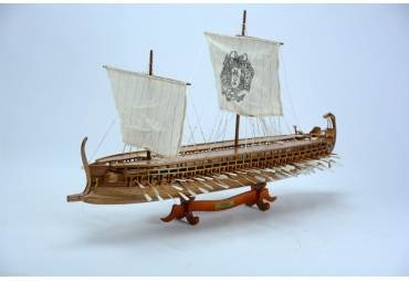 Trireme Ancient Greek Battleship