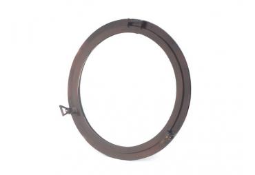 "Antique Copper Decorative Ship Porthole Mirror 30"""