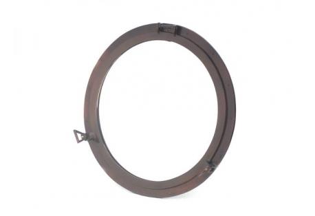 """Copper Decorative Ship Porthole Mirror 30"""""""