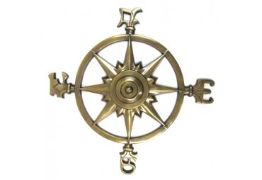 """Rose Compass Antique 22"""""""