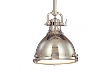 Nautical Theme Polished Nickel Pendant Ceiling Light