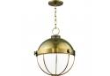 Aged Brass Pendant Ceiling Light