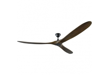 Aviation Walnut Blades Indoor-Outdoor Ceiling Fan