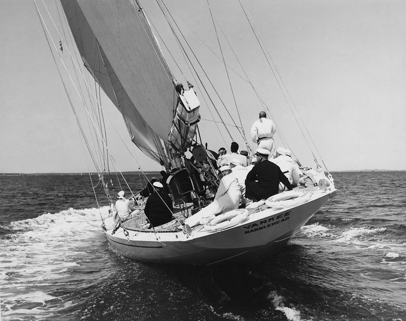 Yankee sailing